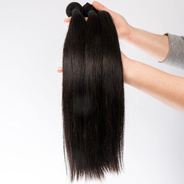 3 Bundles of Virgin Brazilian Straight Hair Bundles WW002