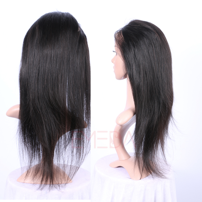 EMEDA 360 lace frontal closure Brazilian hair pre plucked lace frontal HW 022