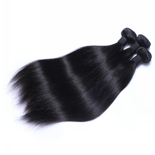 Brazilian Human Hair Virgin Weaves Straight Hair Bundles 8-30 Inch Large Stock  LM179