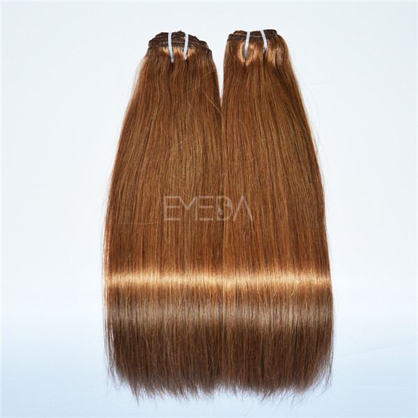 Brown Color Hair Straight Clip In Hair Extension Lj169 Emeda Hair