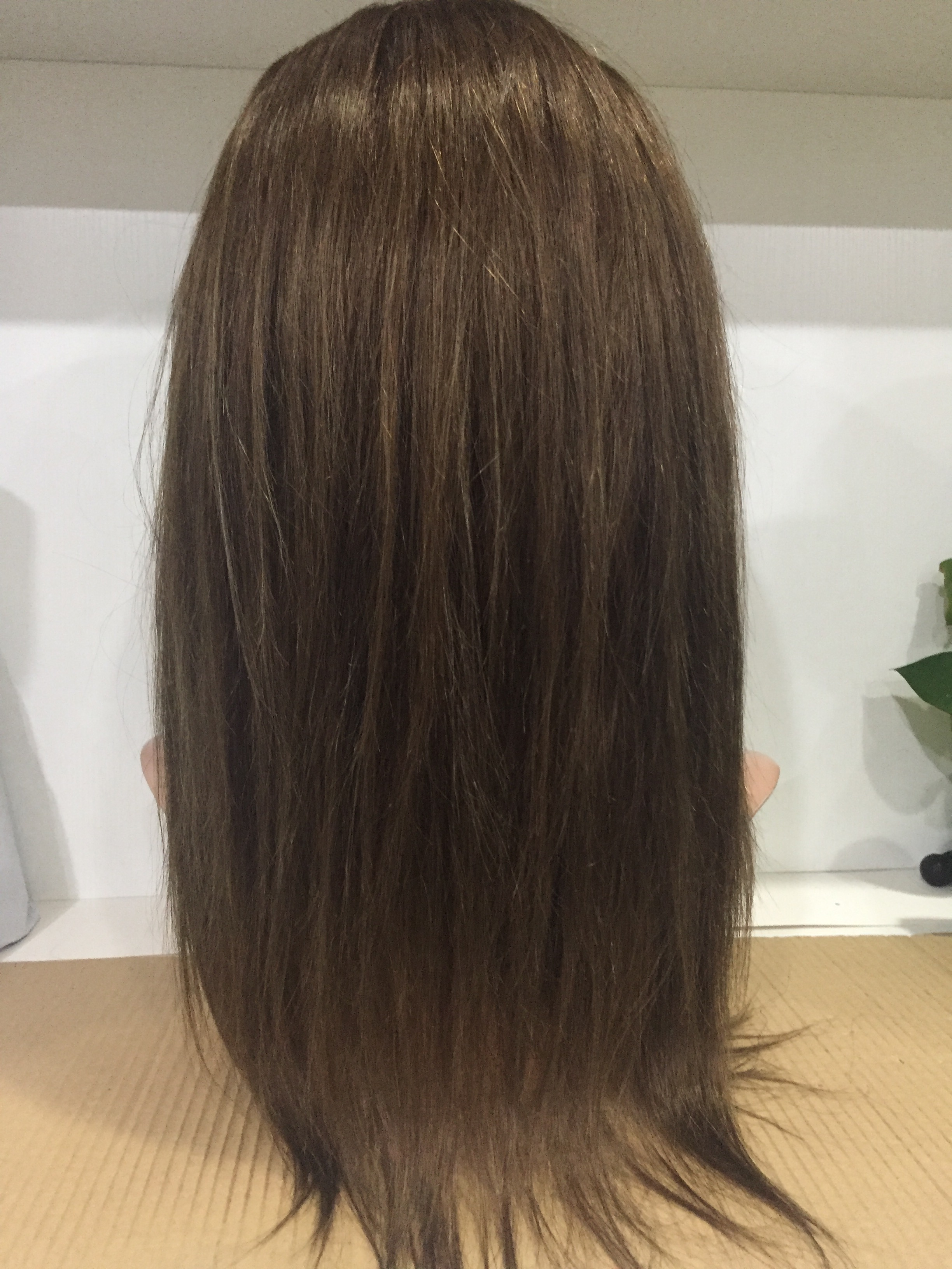 Brown hair wigs colored hair wholesale wigs in stock  Brazilian hair YL220