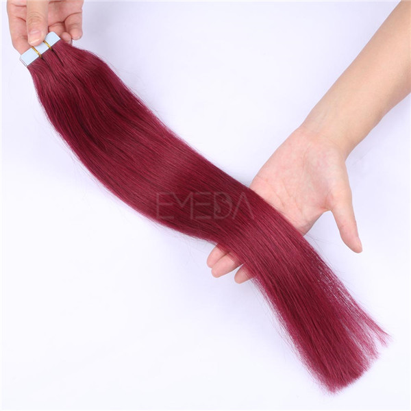 Contact Supplier Wholesale Virgin Brazilian Hair Tape In Hair Extensions Curl YL227
