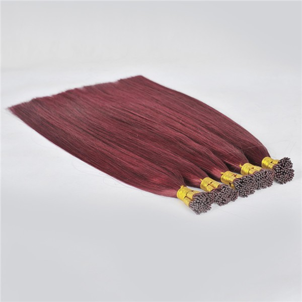 Human Hair Brazilian I Tip Hair Extensions Wholesale China Extension Supplier Keratin Hair LM395