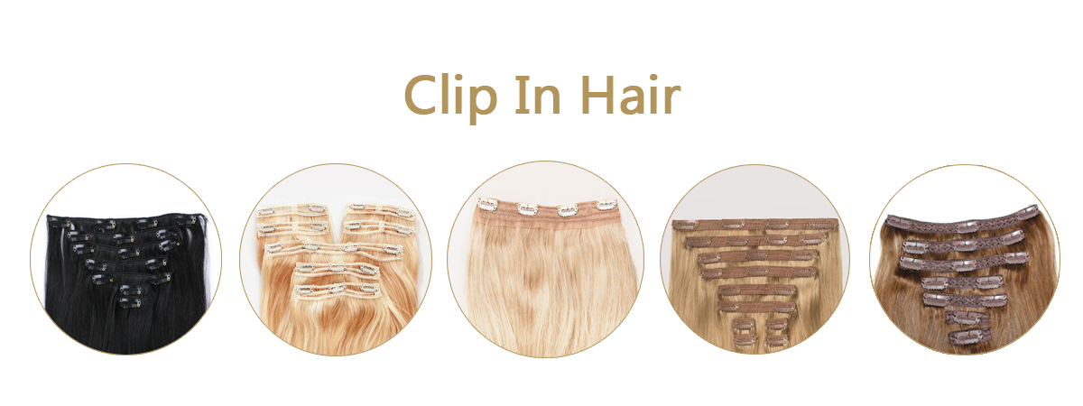 Clip in hair extensions manufacturer