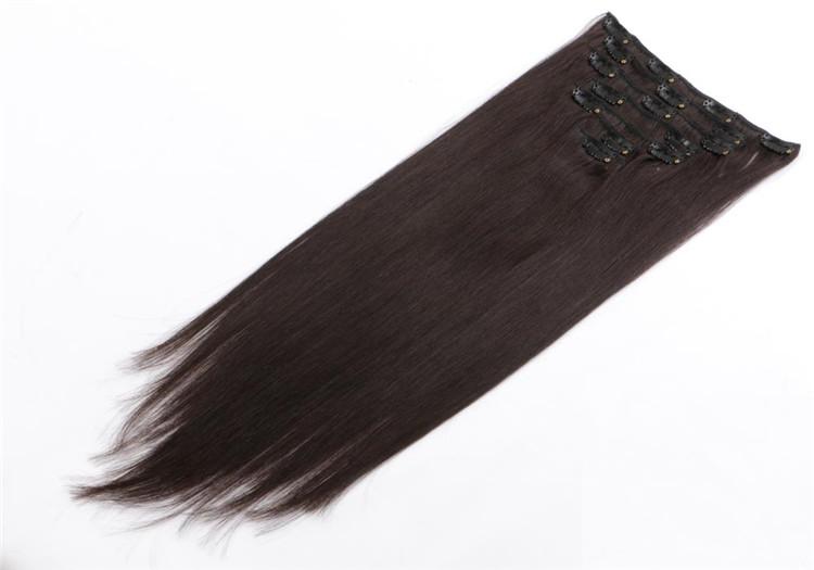 Wholesale Remy Clip In Hair Extension Dubai Qm047 Emeda Hair
