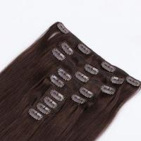 China full head remy clip in hair extension manufacturers QM048