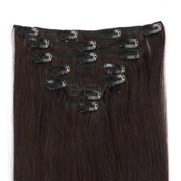 Wholesale clip in extensions human hair XS036