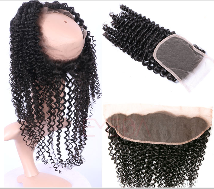 Yes Virgin hair 360 Lace Frontals with bundles weave with baby hair YL125
