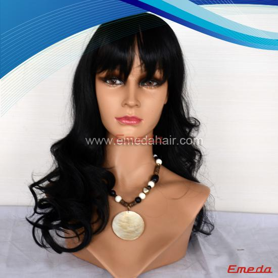 Full Lace Wigs With Bangs