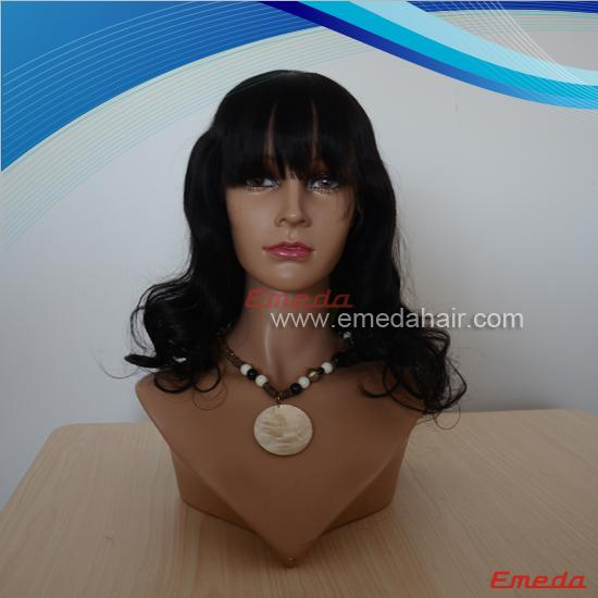 peruvian lace front wig