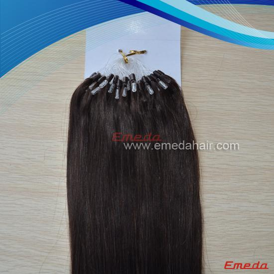 natural double beads hair