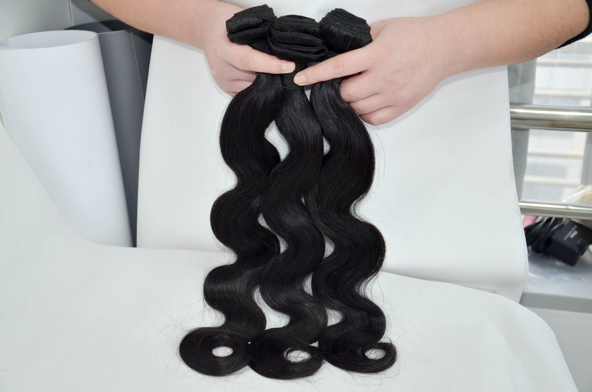 Instock Indian body wave hair weave accept dropshipping JF16