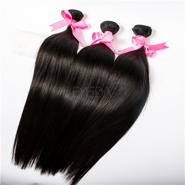 High Quality Virgin Cuticle Aligned Hair Wholesale Indian Temple Hair Weave YL045