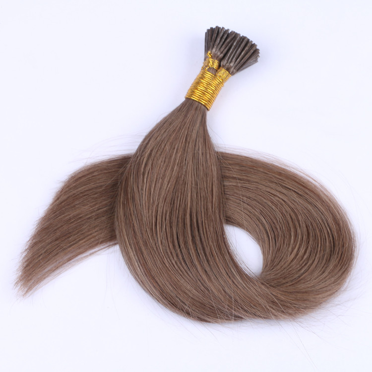 Double Drawn mini I tip hair extensions keratin ex...</>