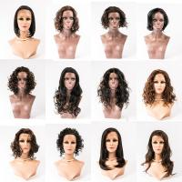 Grade 8A 100% tangle free human hair cheap full lace wigs YJ100