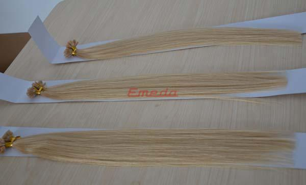 News for new products--Flat tip blonde hair extensions