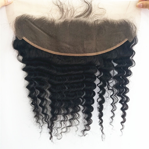 Hot sale natural color virgin hair frontals Ear to ear YL107