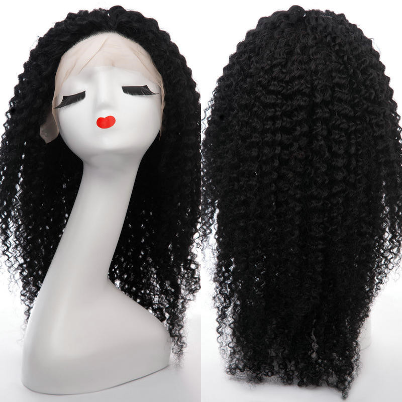 Peruvian lace front wig factory price DL0014