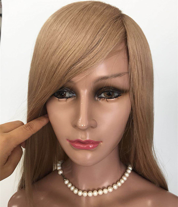 Full lace human hair wig HD lace wig factory accept customs made JF346