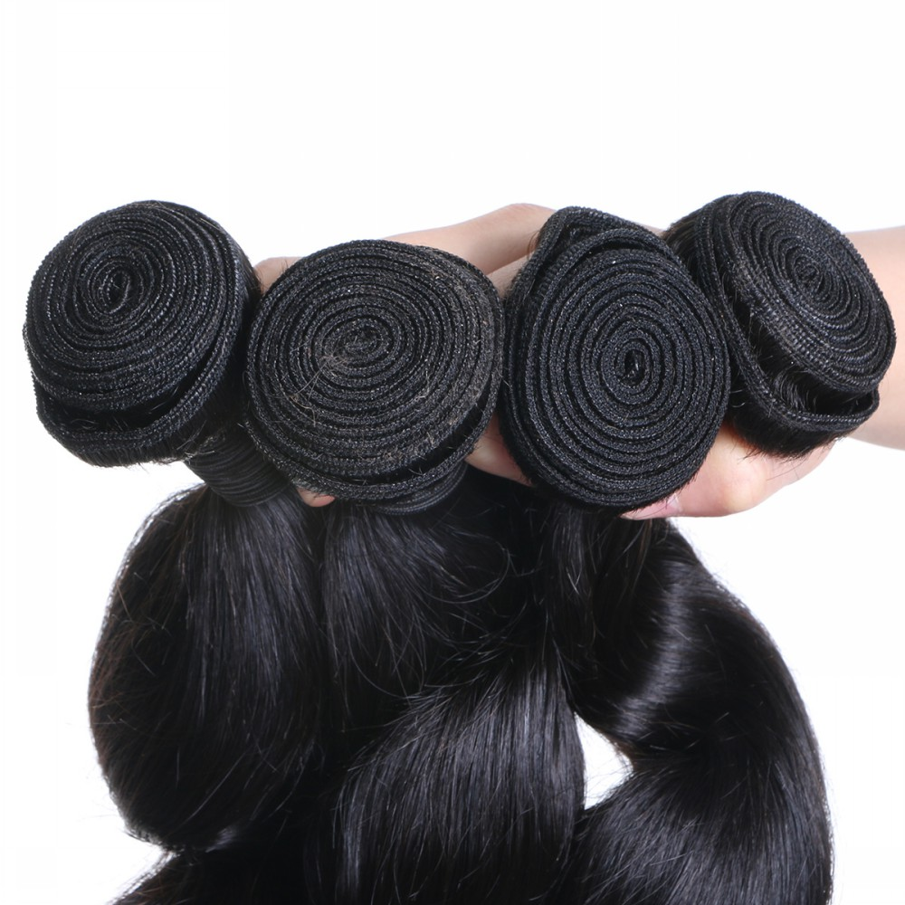Human Hair Bundles Body Wave Weave Hair Extensions  YL426