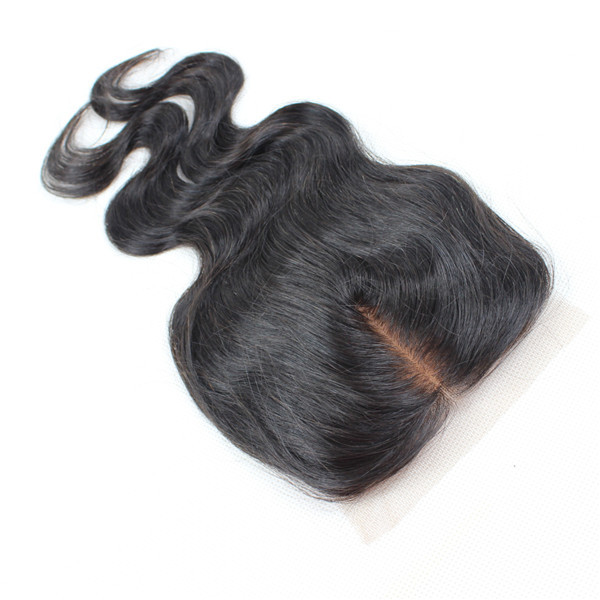 100% hair lace closure mink Brazilian hair natural look YL123