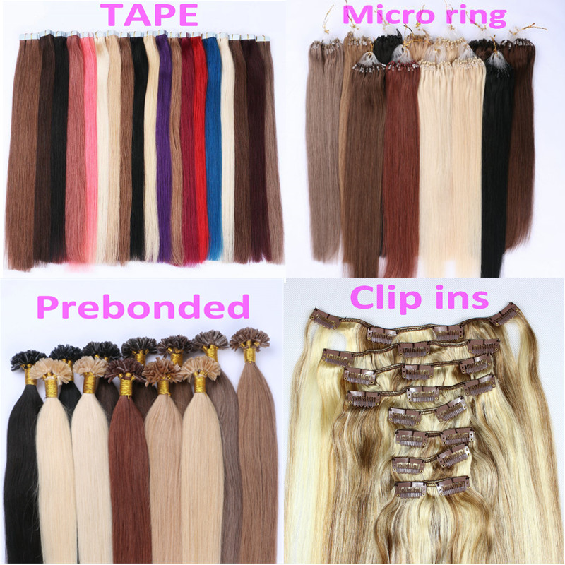 Peruvian wholesale tape hair extensions factory DL0007