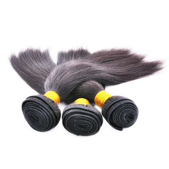 Wholesale Hair extensions houston straight natural color unprocessed 5a top grade virgin brazilian human hair