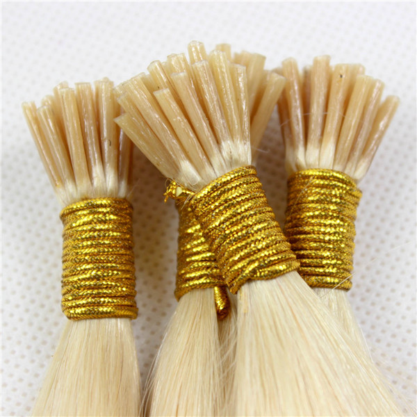 Remy I Tip Hair Made In China Italy Glue Pre-bonded Hair Extensions Factory LM343