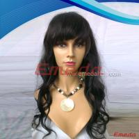 glueless full lace 100 human hair wig