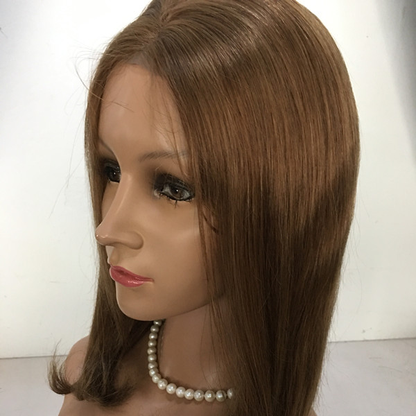 Full lace human hair wigs pre plucked wig with baby hair YL364