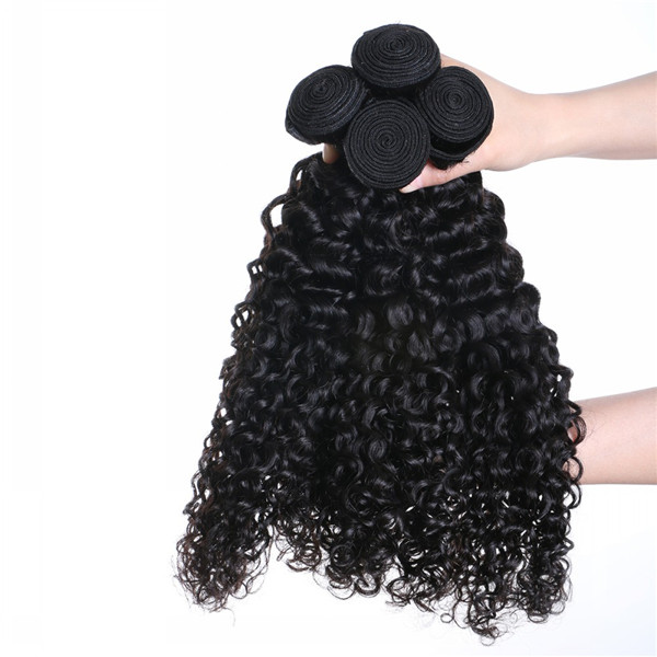 Hot Sale Kinky Curl Hair Bundle With Closure Wholesale Factory Manufacturer YL222