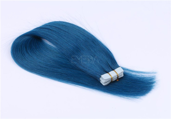 Tape in hair extensions custom color and wholesale price YL052
