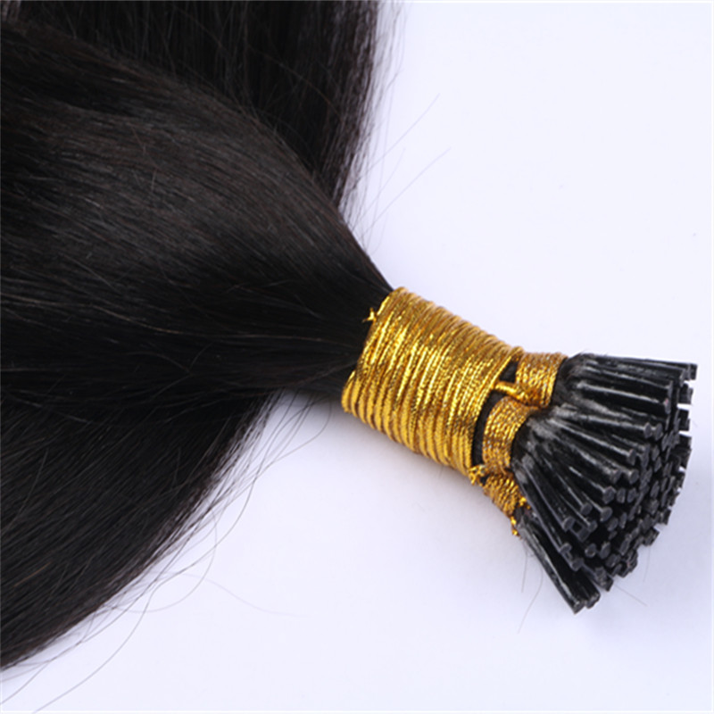 #1 Jet black I Tip Hair Extensions  Salon Quality  Remy Human Hair Extensions YL347