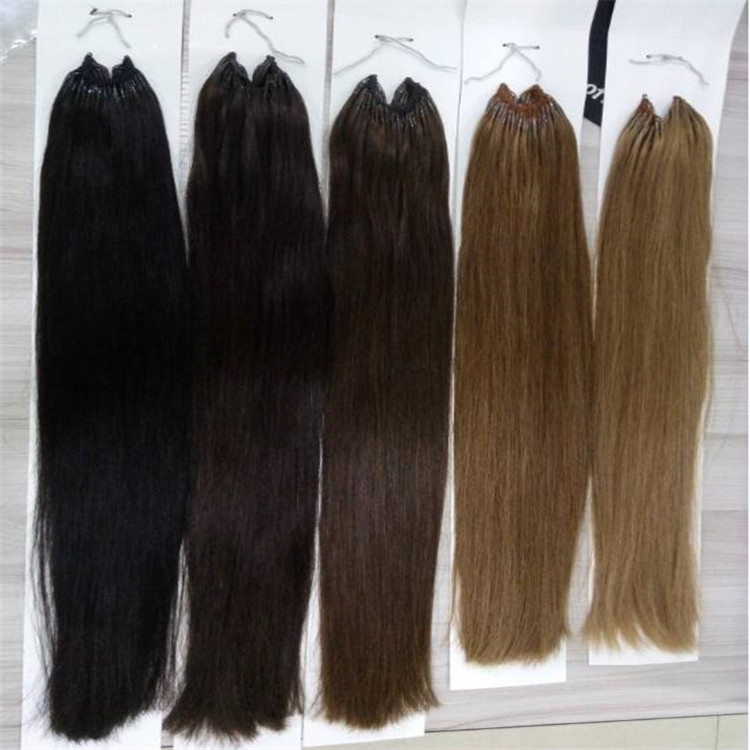 Korean Knots Hair Extension Virgin Cuticle Hair WK033