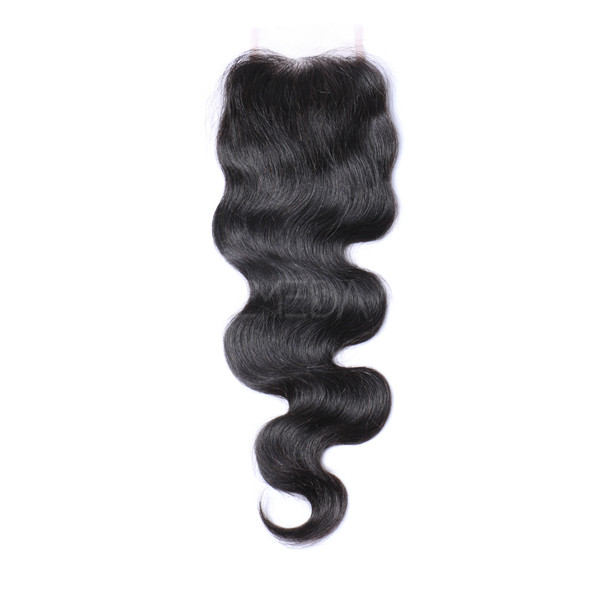 Body wave Brazilian hair closure LJ234