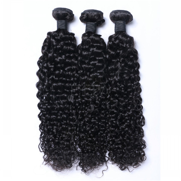 Indian virgin hair Kinky curl LJ193