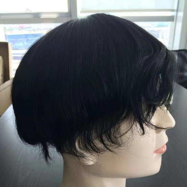 Men toupee with texture  ad85ec815