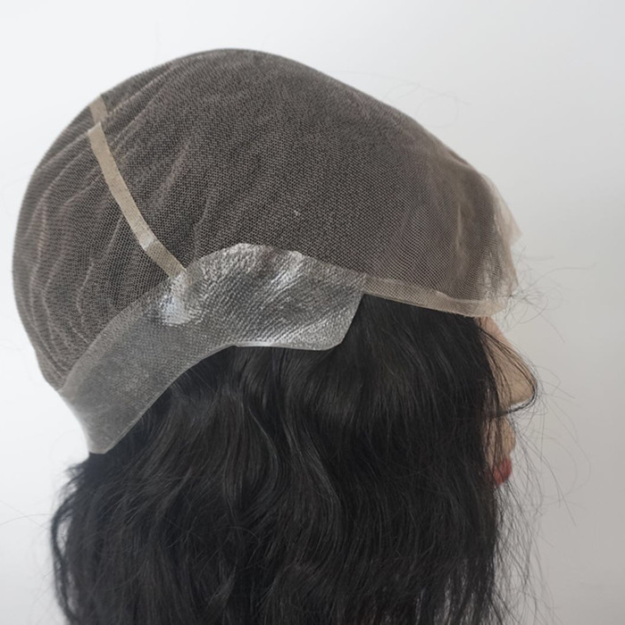 Hairpieces for thinning hair on top hair topper for thinning crown and hair toppers for hair loss JF353