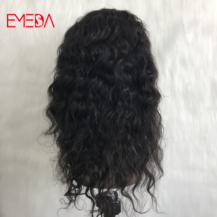 China best Indian remy human hair glueless full lace wigs supplier YJ325