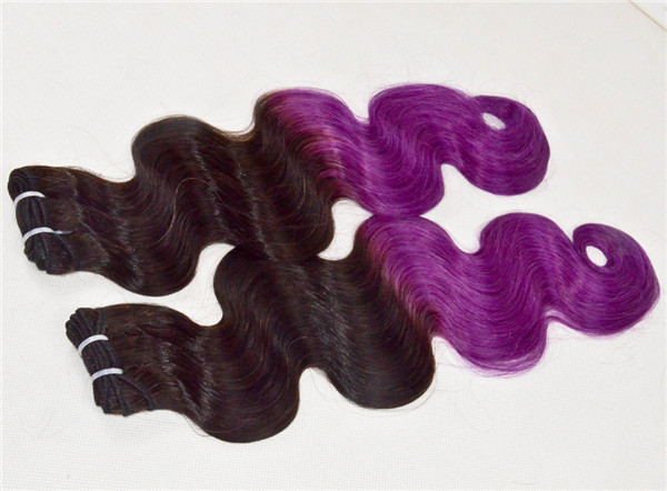 Peruvian boday wave T color human hair extension XS015