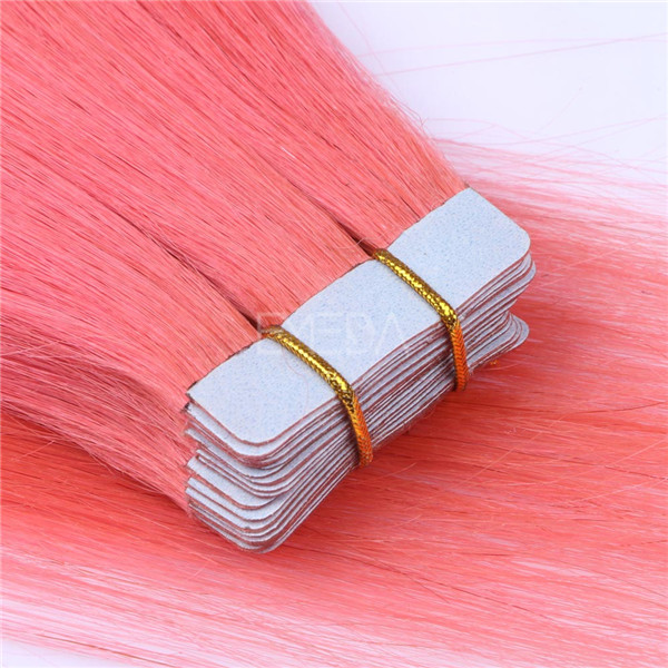 Best Selling Remy Tape Hair 100% human hair Tape In Human Hair Extensions YL228