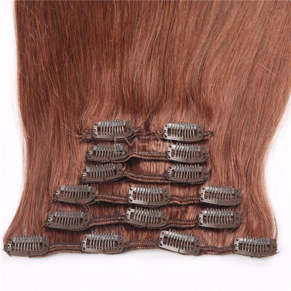 Premium Euronext Clip In Hair Extensions Clip Ins Yj256 Emeda Hair