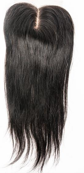 Hair extensions bundles hair 4*4 silk closure HN118
