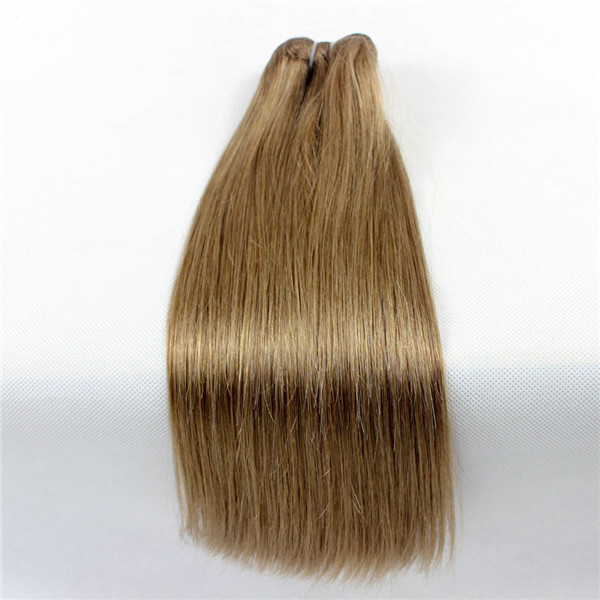 100% humanhair extension Peruvian silky straight hair weft XS018