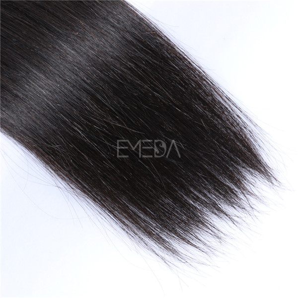 Brazilian straight virgin remy hair extensions LJ207