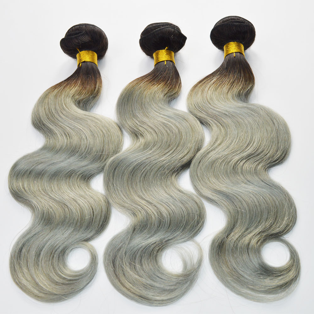 Two tone color hair extension LJ187