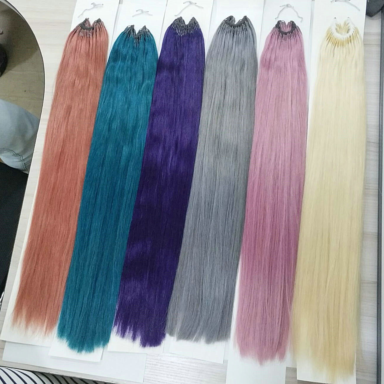 Quality colorful slim braiding hair extension straight australia DL0012