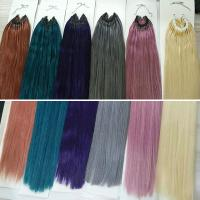 Quality colorful slim braiding hair extension straight DL0012