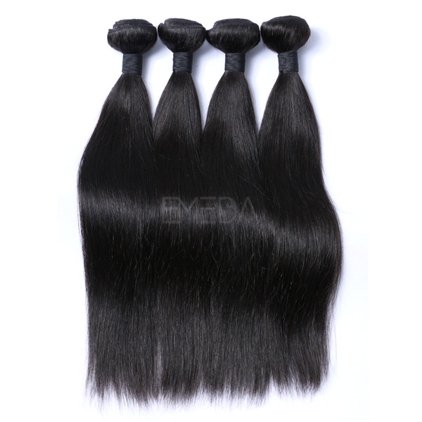 Straight indian virgin hair  LJ226