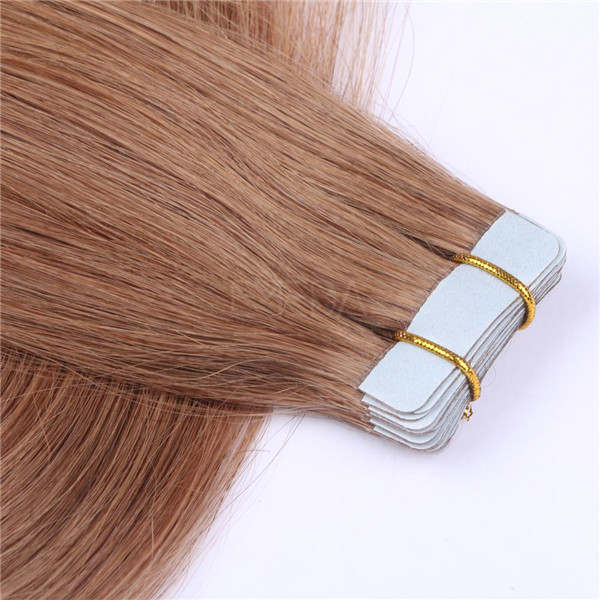 Wholesale human hair products tape in hair extensions YL263